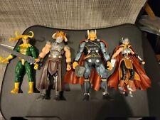 Marvel Legends Thor lot Odin Loki Jane Foster Hercules