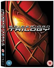 Spider-Man Trilogy 1-3 (Blu-ray, 3 Discs, Region Free) *NEW/SEALED*
