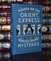 Murder on Orient Express Mysteries by Agatha Christie New Sealed Leather Bound