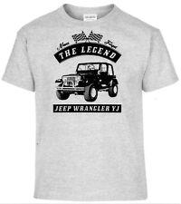 T-Shirt, Jeep Wrangler YJ,Auto,Oldtimer,Youngtimer