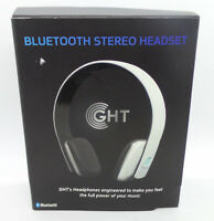 GHT Bluetooth Stereo Headset and Microphone - Original Box
