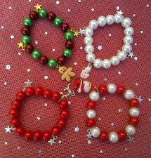 Glass Adjustable Beaded Costume Bracelets