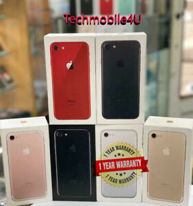 NEW Apple iPhone 7 32GB 128GB Factory Unlocked Smartphone 1Yr Wty in Sealed Box