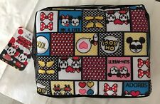 "DISNEY MICKEY MOUSE Cosmetic Make Up Bag Accessory 7""wide X 6"" Deep NWT"