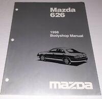1998 Mazda 626 Bodyshop Manual Free Shipping MAZDA 1998