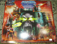 Motu 200x Grayskull Castle Castello Teschio Grigio Masters of th Universe Mattel