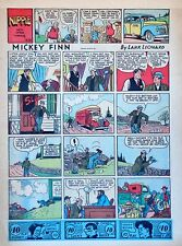 Mickey Finn by Lank Leonard - full tab page color Sunday comic - May 17, 1942