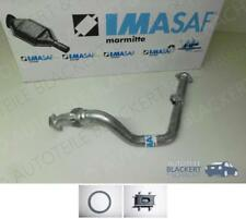 IMASAF Auspuff Hosenrohr + Anbauteile Toyota Land Cruiser +Hardtop 2.4 TD (LJ70)