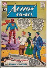 Action Comics #283 DC Comics 1961 Superman, Legion of Super-Villains, 1st 12cent