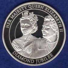 Islas Cook, 2012 dólares de plata prueba 5, $5, Jubileo de Diamante (ref. t1473)