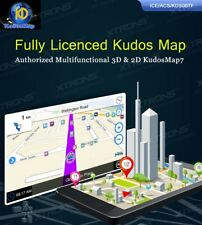 Fully Licenced Kudos Map Authorized Multifunctional 3D & 2D Kudos Map7 For AU NZ