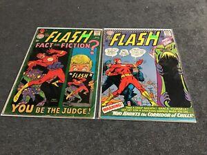 The Flash lot of 11 average grade VG-F DC 1966
