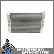 "New Universal Aluminum Racing Radiator 2 Row Double Pass 31"" x19"" x3"" Ford Mopar"