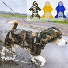 Dog Raincoat Small Medium Waterproof Rain Jacket Reflective Pet Clothes Labrador