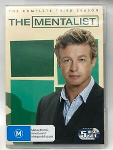 The Mentalist - Complete Third Season - 5 DVD Set - AusPost with Tracking