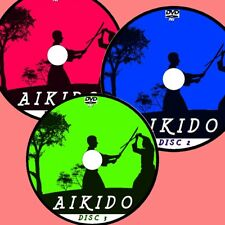 YOSHINKAN AIKIDO VIDEO 3 DVDs EASY TO FOLLOW STEP BY STEP TRAINING GUIDES NEW