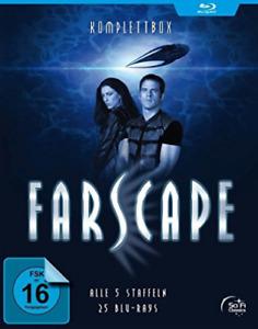 Farscape-verschollen im all: komplettbox - (german import) blu-ray new