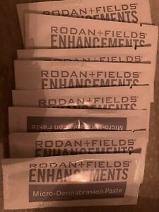 Rodan and Fields Enhancements Microdermabrasion Paste 8 Packets 5ml Each