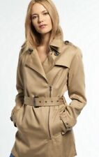 Superdry women's Draped Trench Coat  SIZE L RRP £94.98