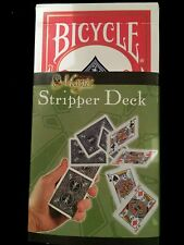 Stripper Deck. RED Bicycle Deck... Yes you can do it