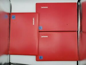 "LOT OF 3 Lenovo IdeaPad 100S-11IBY 11.6"" Laptop Intel Atom Z3735F 2GB *UNTESTED*"