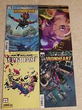 Riri Williams Ironheart #1 #2 #3 #4 Complete FIRST PRINTS!