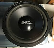 "NEW Old School MMATS PRO-12 Competition 12"" Subwoofer,Rare,NOS,NIB,Vintage"