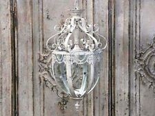 Chic Antique Lampe Laterne Leuchter Hängelaterne Shabby Brocante france Landhaus