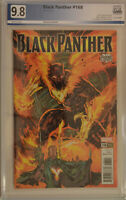 BLACK PANTHER #168 (2018) PGX 9.8 (NM/MT) Like CGC White Pages - Phoenix Variant