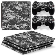 Sony PS4 Pro Console and Controller Skins / Decal -- Camo / Camouflage P-600