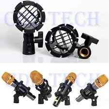 Shotgun Microphone Mic Suspension Shock Mount Pencil Clamp Condenser Holder Clip