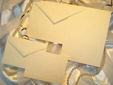 50 Set Invitation Kit w/ Panel Card, Response & Envelopes Printable DIY Wedding