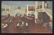 Postcard ROCHESTER New York/NY  Casa Lorenzo Restaurant Interior view 1940's