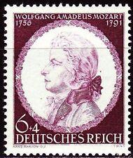 Deutsches Reich 1941 ** Mi.810 Wolfgang Amadeus Mozart Musik Music [drp044]