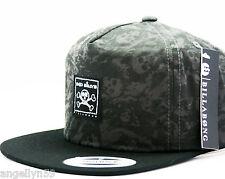 BILLABONG MENS Boys HAT Grey Brown Black Skulls Trucker Cap Adjustable SnapBack