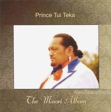 Prince Tui Teka Maori Language cd,legendary New Zealand entertainer
