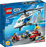 60243 LEGO City Police Police Helicopter Chase 212 Pieces Age 5 Years+