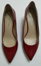 Red Pumps Size 7 1/2 Adrienne Vittadini Pointed Toe 2 inch Heel