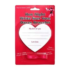 'Write Your Own Dares Bracelet' Hen Night Party Game