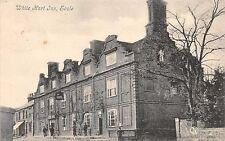 Scole Norfolk Uk White Hart Inn Coaching Inn~Bicycles~Valentine Series 1906 Psmk