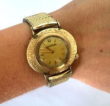 VINTAGE BULOVA ACCUTRON N0 2183 WRIST WATCH RUNS NEW BATTERY 10K GOLD FILLED