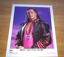 Bret Hart P-370 wwe 8x10 wrestling official promo photo 1996