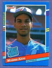 1991 Donruss  Baseball Card Moises Alou Rated Rookie (RR) (Expos)