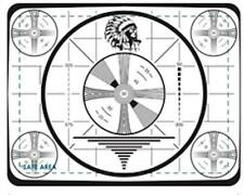 Indian Head Test Pattern Mouse Pad, Retro Look
