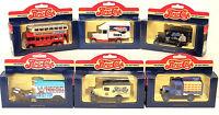 Pepsi Cola Day`s Gone Lledo Die-Cast Van / Bus Collectible Models Set of 6