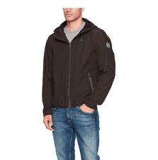 New Tommy Hilfiger Mens Logo Graphic Hooded Soft-Shell...