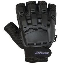 Zephyr Tactical Half-Finger Gloves Black Small Medium