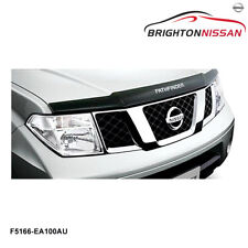 New Genuine Nissan Pathfinder R51 Series Smoked Bonnet Protector F5166EA100AU