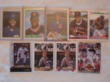 Boston Redsox Mo Vaughn 9 card lot 5 rc + gold +SEE PICS!!!