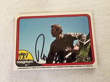 Tom Selleck HAND SIGNED 82 Donruss Magnum PI Card #57 w/COA BLUE BLOODS STAR